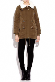 Ladies Soft Touch Parka Jacket